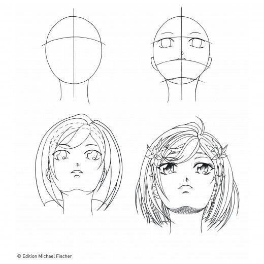 die besten 25 manga zeichnen lernen ideen auf pinterest. Black Bedroom Furniture Sets. Home Design Ideas