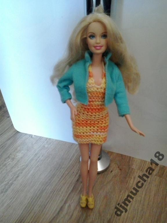 śliczna Barbie Mattel w super ubranku   gratis !!!
