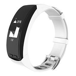 Fornorm Heart Rate Bracelet Bluetooth Gps Positioning Smart Wristband Fitness Alarm Clock Pedometer With OLED Touchpad