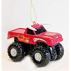 Christmas Truck Ornament Monster Jam El Toro Loco