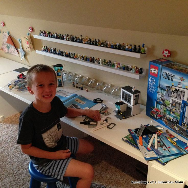 Lego desk - Love it!
