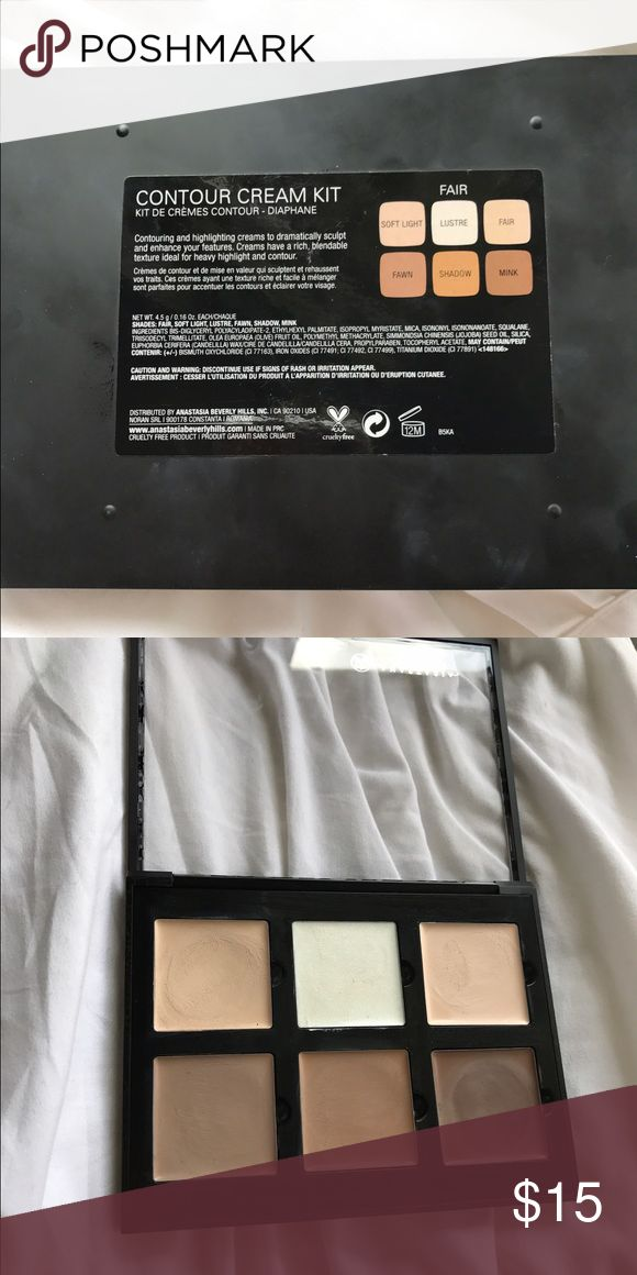 how to use nyx cream contour kit