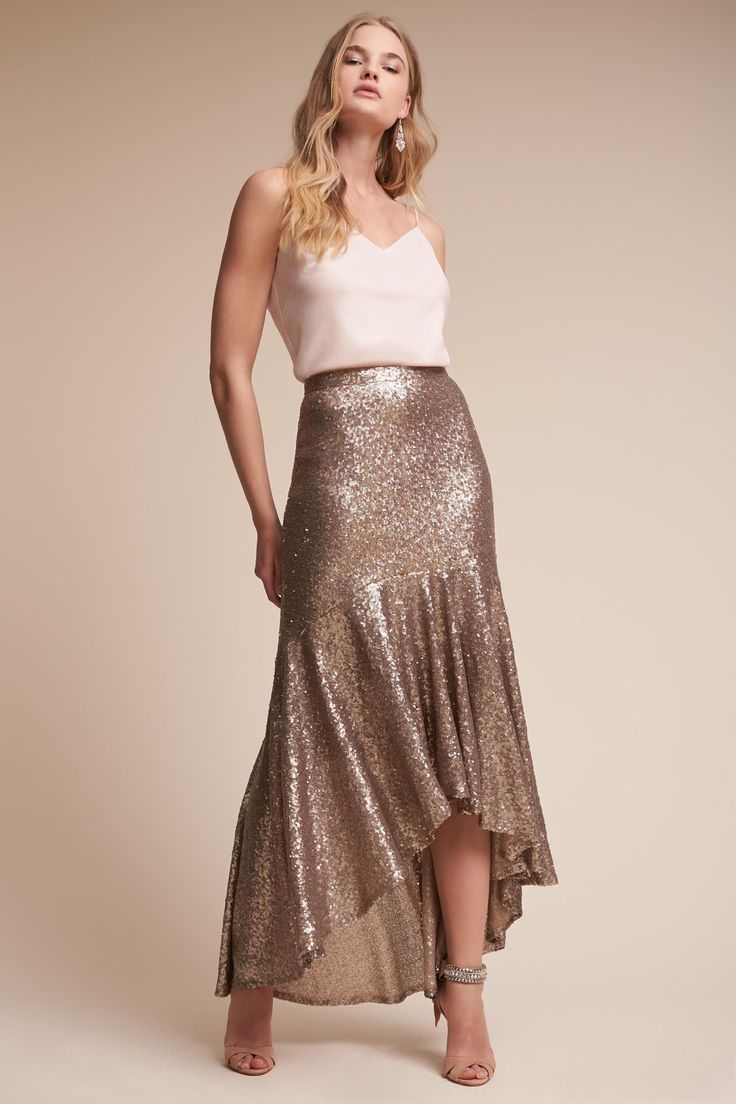 Liv Cami Top & Cosmos Skirt from @BHLDN