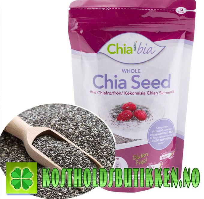Chiafrø,omega3,antioksidanter,c-vitamin,vitamin,sunt,hår,negler,supermat,superfood