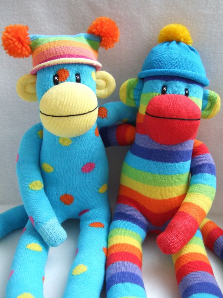 two's company! sock monkey pals | Flickr - Photo Sharing!