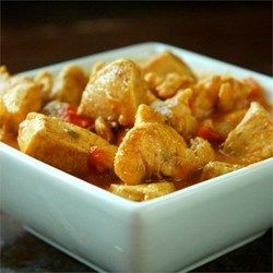 Curried Coconut Chicken has the perfect balance of spice and sweet. Serve over Minute white or brown rice.