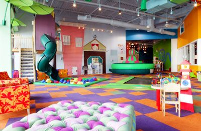 I want a slide into a ball pit!! And a built in trampoline!!