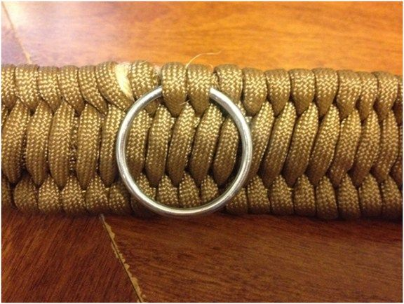 This belt could save your life! How to make a Paracord Every Day Carry (EDC) belt. by Anthony and Kelly Braun –