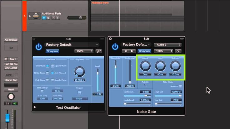 Kick Drum Enhancement in Logic Pro X