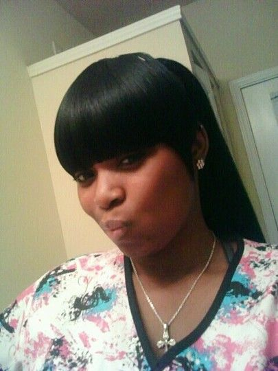 Full (weave Capped Bangs) With Ponytail By StyleSeat Pro, Reenie Kyles |  World