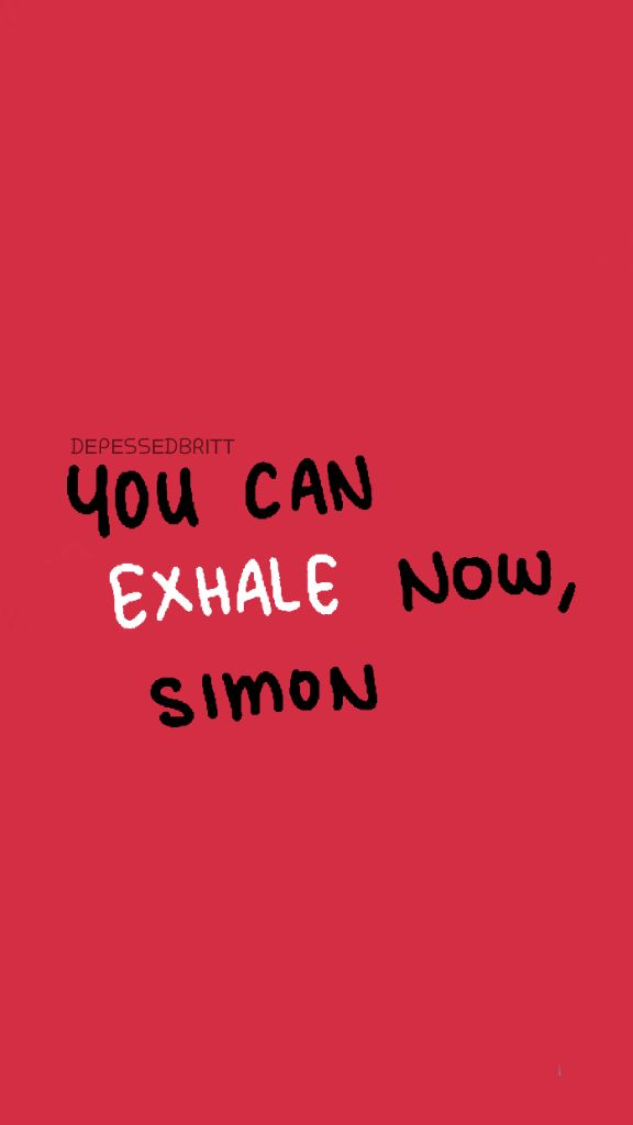 Just A Lockscreen I Did For Love Simon Posted On My Tumblr Too Beautiful Love Simon Movie Love Simon Simon Movie