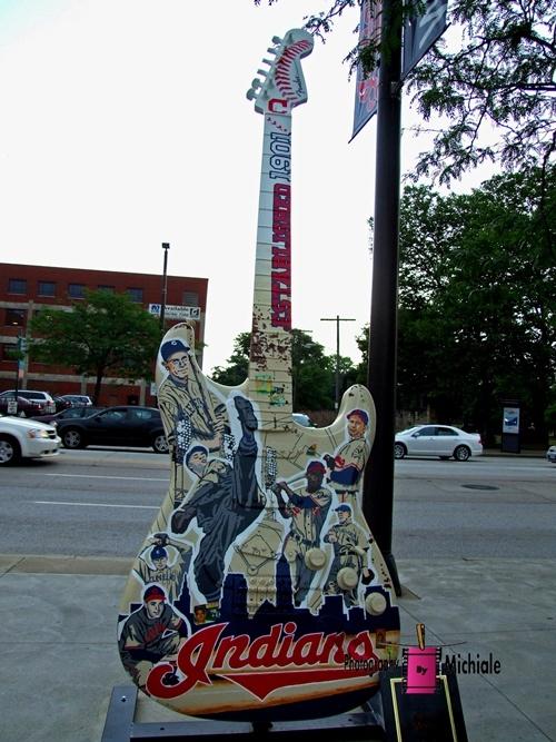 Cleveland Indians Guitar #cleveland #indians
