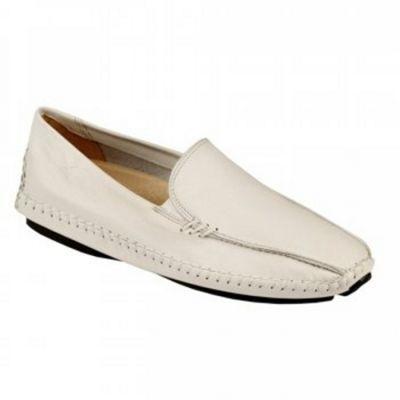 White Slide Ladies Driving Shoes, Debenhams shoes-boots