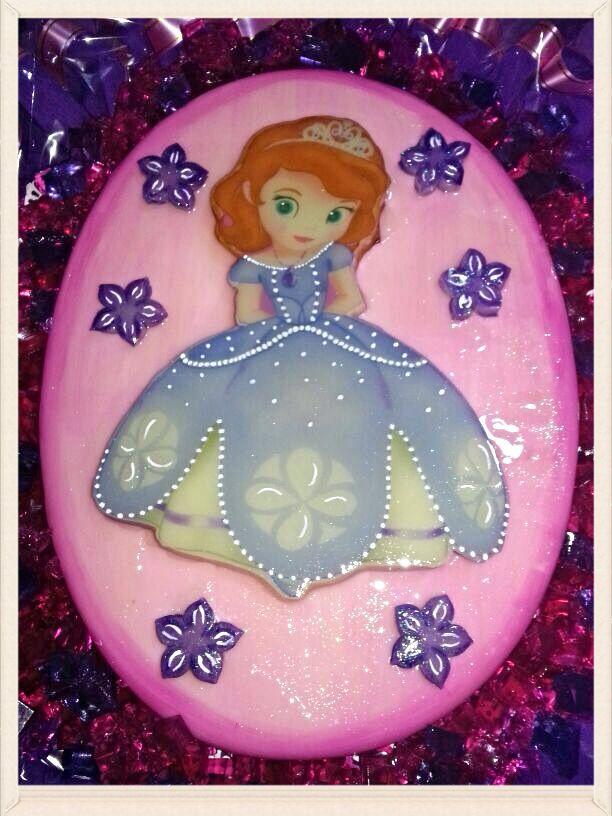 Gelatina Princesa Sofia Princesa Sofia Cake Pinterest