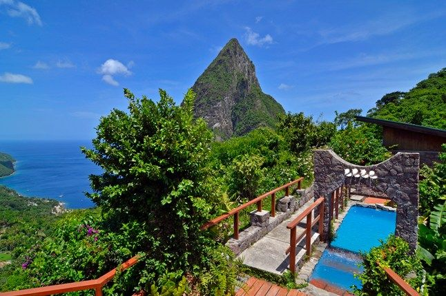 Ladera, St Lucia. Book your next all inclusive trip to St Lucia on www.click2xscape.com