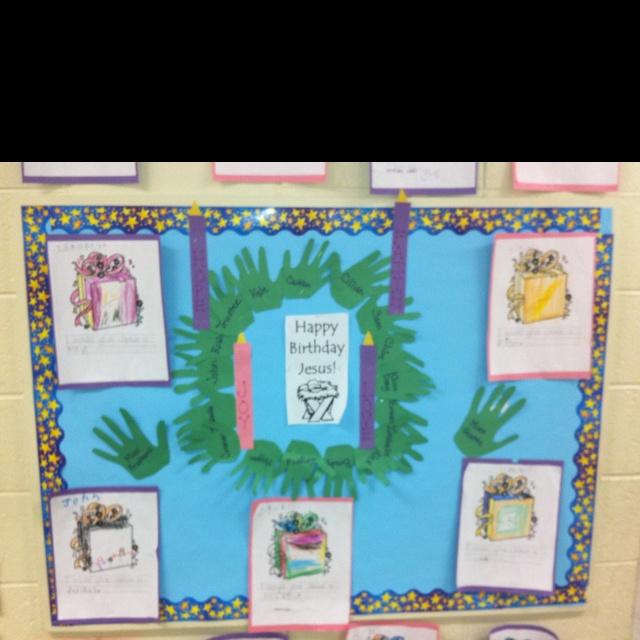 Advent Calendar Bulletin Board : Advent bulletin board church sunday school pinterest