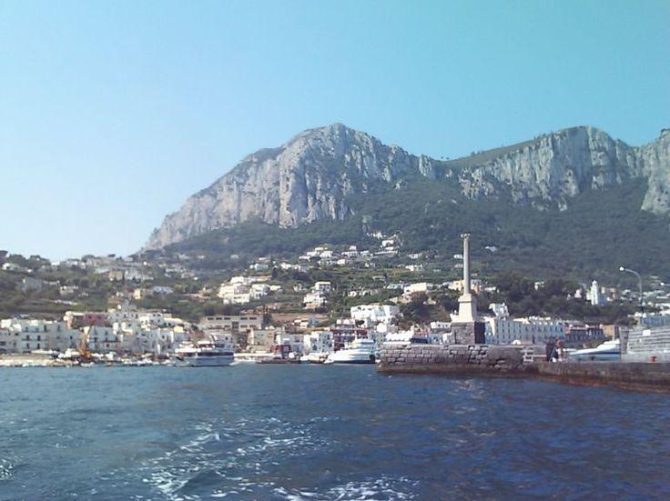 Capri Italy/Blue Grotto Tour