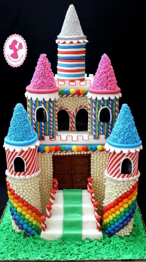 Cake Art Coupon : Magical Candy Castle Cake #coupon code nicesup123 gets 25% ...