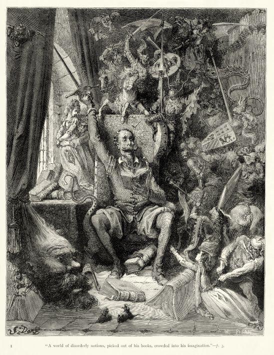 Η ΑΠΟΚΑΛΥΨΗ ΤΟΥ ΕΝΑΤΟΥ ΚΥΜΑΤΟΣ: Ο υπέροχος Δον Κιχώτης του Gustave Doré