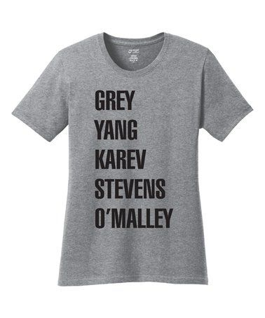 This Athletic Heather Grey's Anatomy Tee is perfect! #zulilyfinds