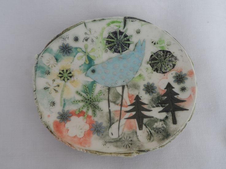 SMALL DISH MADE FROM PF700 CLAY
