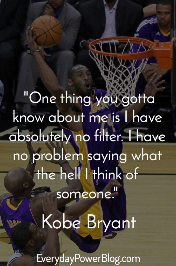 20 Kobe Bryant Quotes On Being Successful Frases Frases
