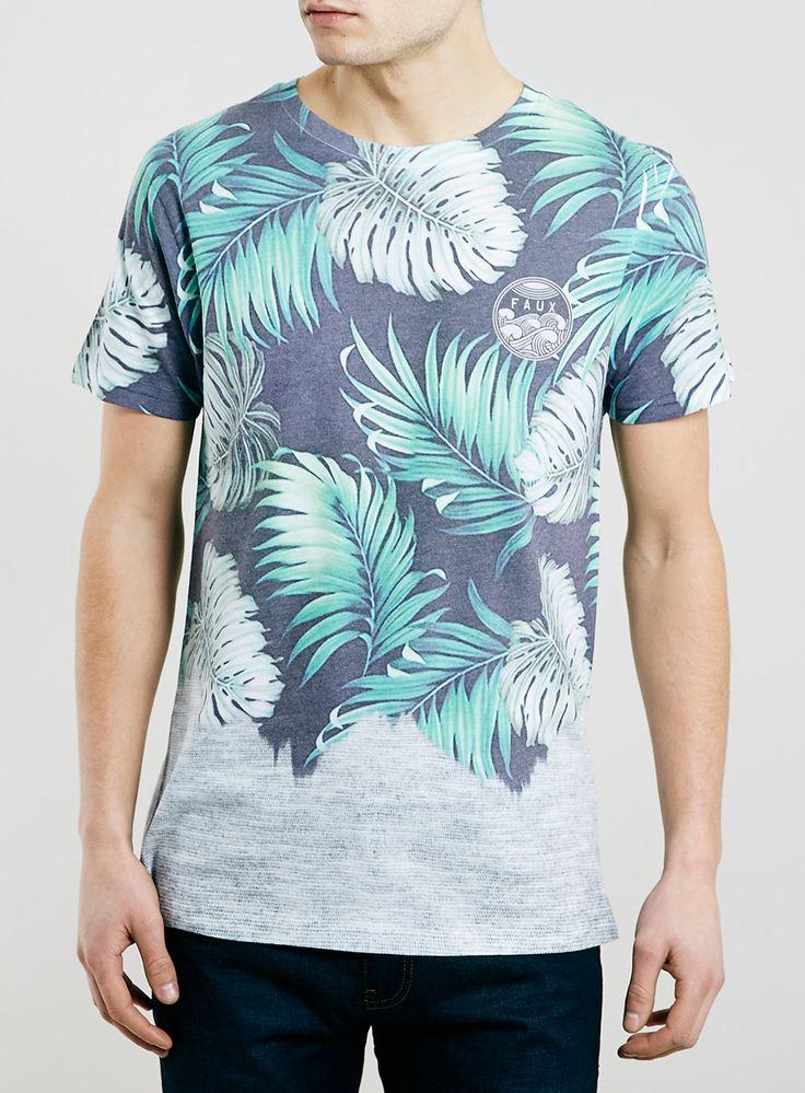 Friend or Faux Sublimation Print T-Shirt* - Men's T-Shirts & Vests - Clothing - TOPMAN