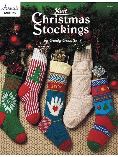 Christmas Stocking Knitting Pattern Straight Needles : Best images about knitting christmas on pinterest
