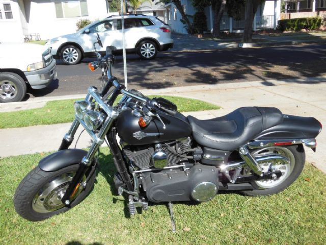 2010 Harley-Davidson FAT BOB Standard , Flat Black, 2,002 miles for sale in Orange, CA