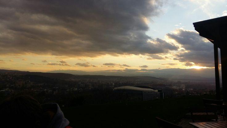 #beautifulRomania #Cluj #ClujArena #hights #clouds #sky