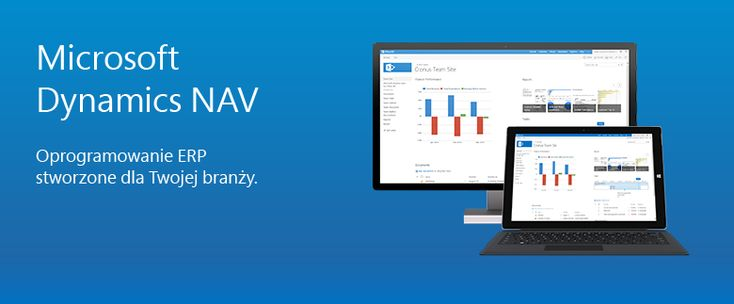 Microsoft Dynamics NAV dla różnych branż
