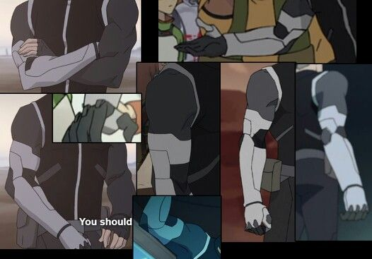 Shiro arm reference
