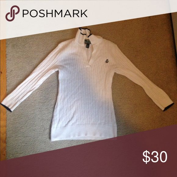 Polo Ralph Lauren golf sweater Women's golf sweater, hardly worn Polo by Ralph Lauren Sweaters V-Necks