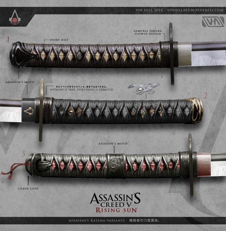 Curiosidade: artes feitas por fã mostram como seria um Assassin's Creed no Japão feudal   PS3 Brasil