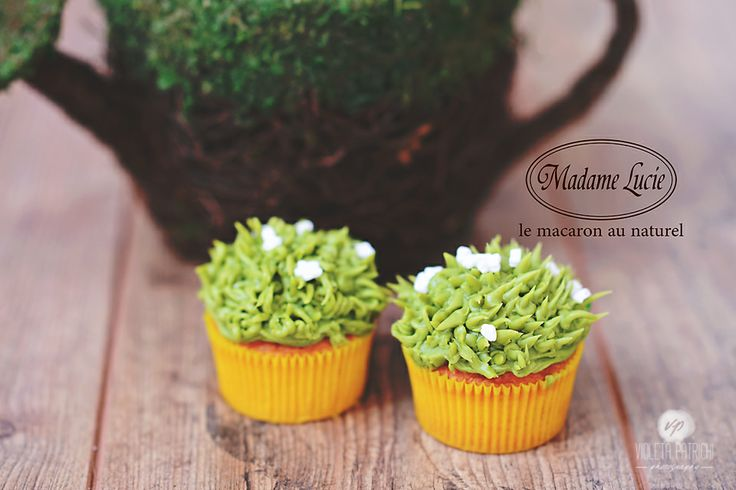Spring Cupcakes <3 Pistachio Flavour!