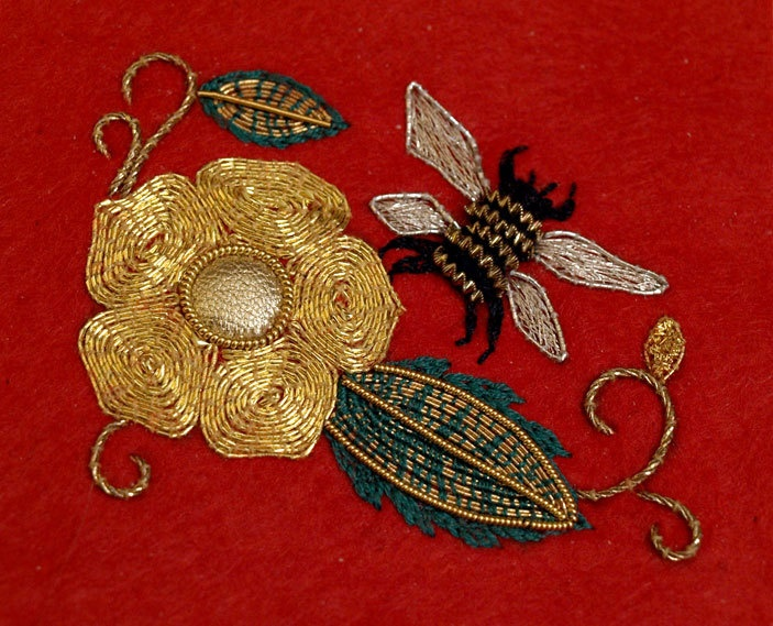 The best images about goldwork embellished on