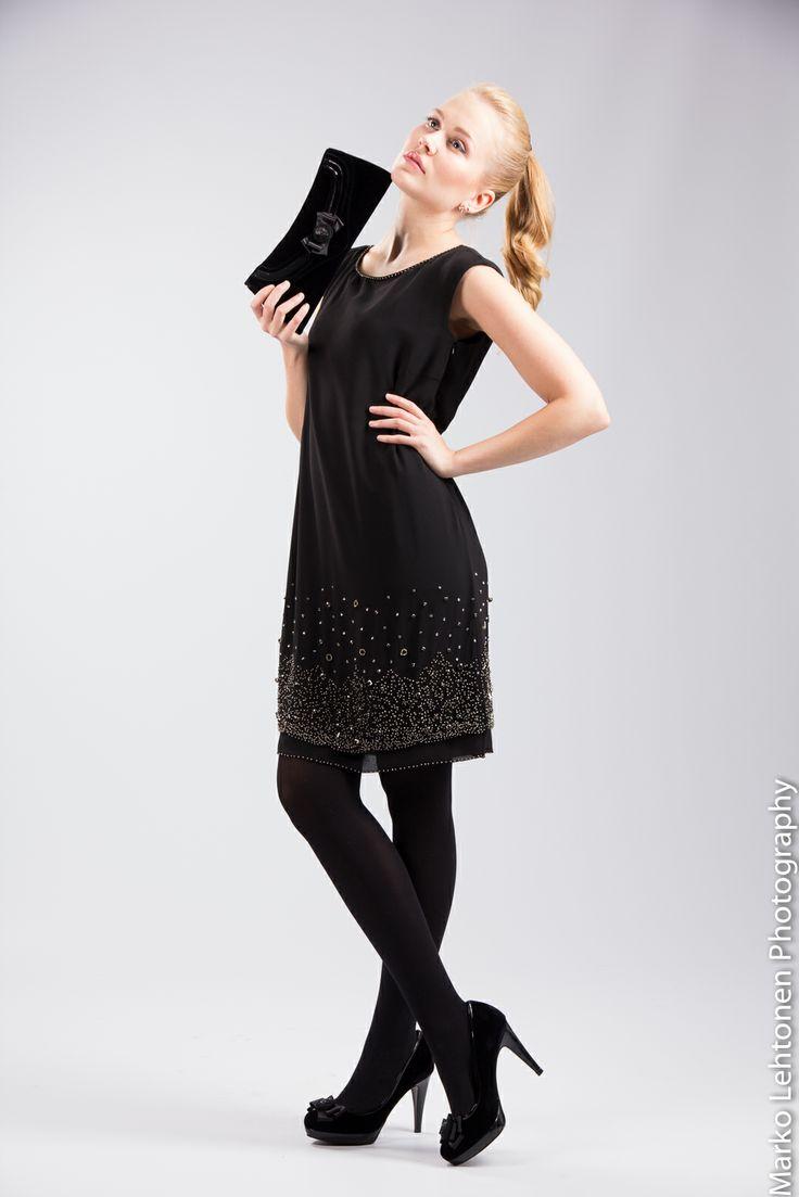 Marella dress and Sacha London accessories.