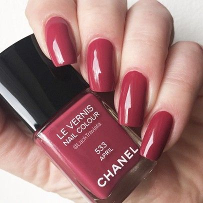 Swatch CHANEL APRIL 533 – CHANEL Nagellack / Nailpolish Swatches