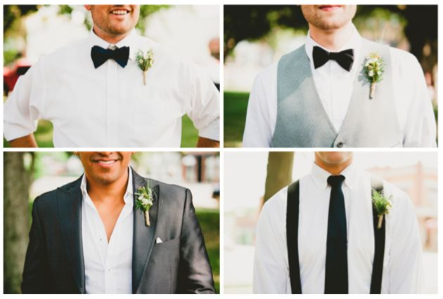 Our Guide to Wedding Suspenders