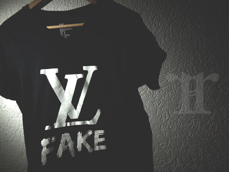original rare lv fake tshirt