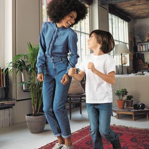 Veste en jean femme kiabi