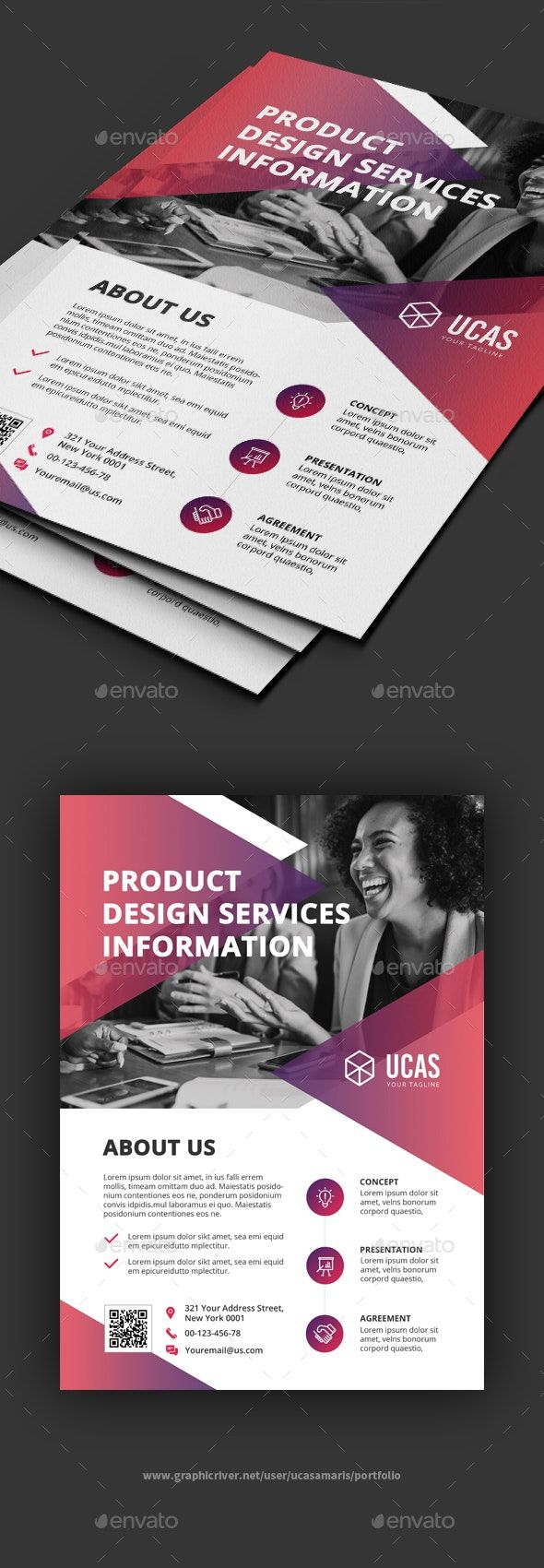 Corporate Business Flyer por ucasamaris | GraphicRiver   – 设计