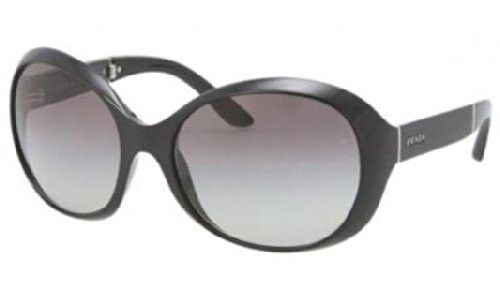 Prada 12OS 1AB3M1 Black 12OS Round Sunglasses | $670,255.68