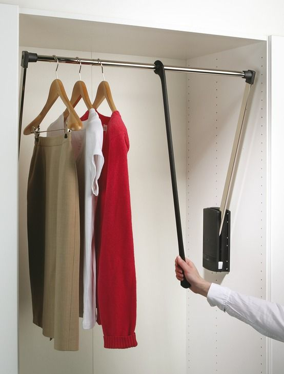 Beau Hafele SERVETTO Pull Out Wardrobe Rail 10kg