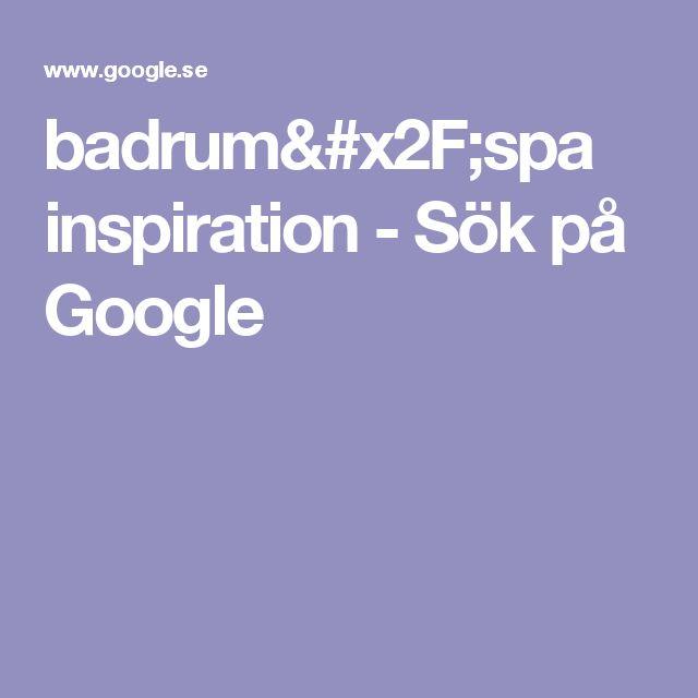 badrum/spa inspiration - Sök på Google