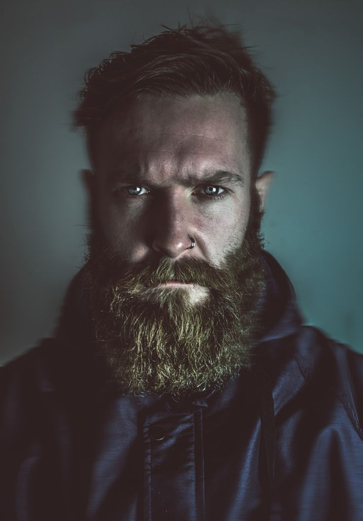 This is how you give fierce beard ! - full thick bushy beard and mustache beards bearded man men portrait awesome photography love this #beardsforever