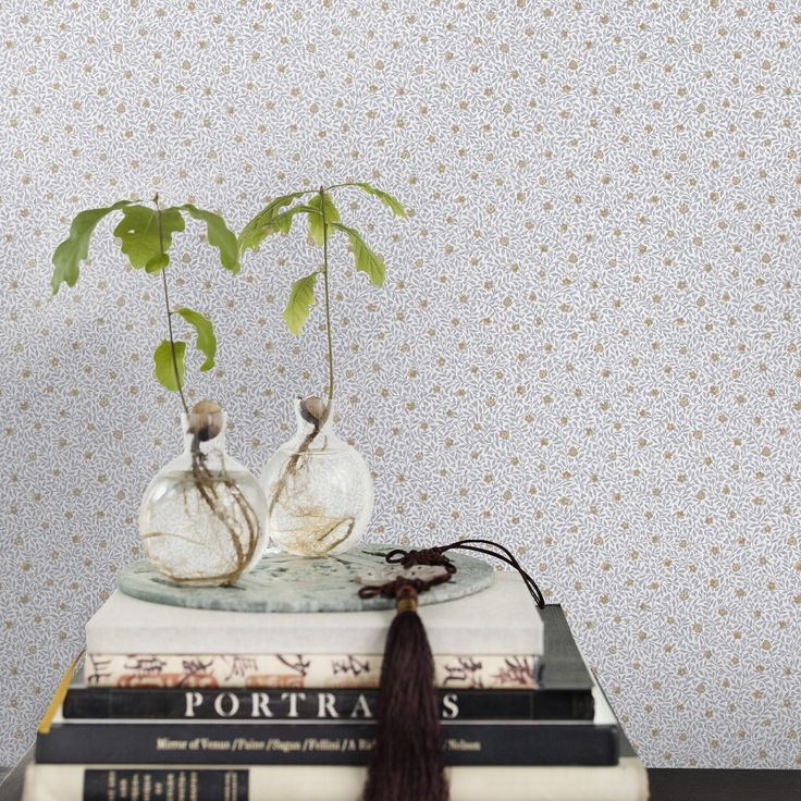 Första stora bilden av tapetern Soho ljusgrå