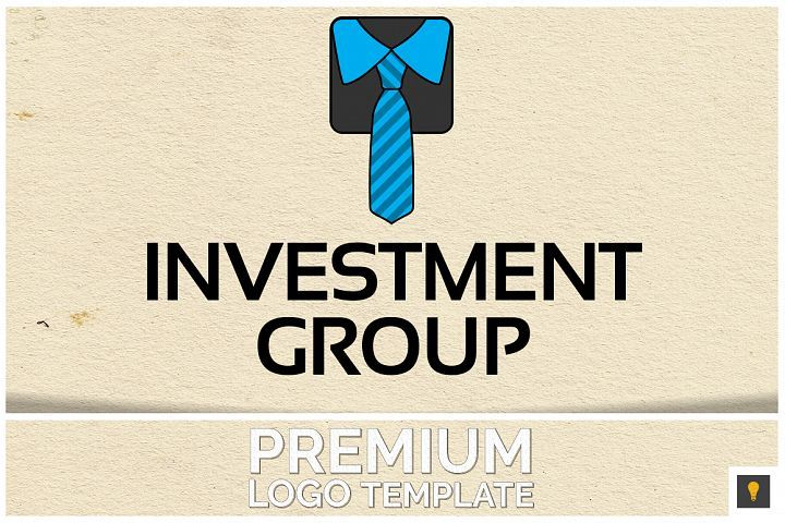 Investment Group Logo Template from DesignBundles.net