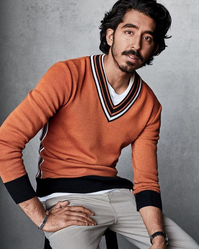 Lion star Dev Patel tries on the sharpest retro-futurist colors and patterns of the season at the link in bio. ( @victordemarchelier)