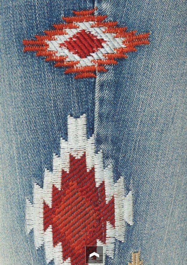 Вышитые джинсы OTTO
